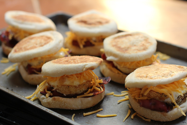 Easy Cheesy Egg McMuffins - Letters From the Loft : Letters From ...